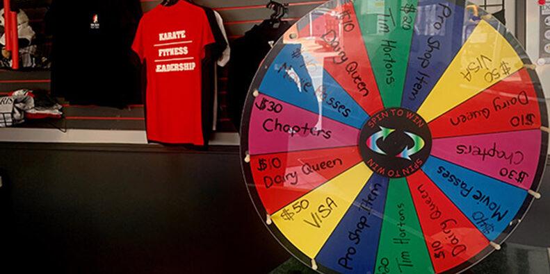 Douvris Prize Wheel