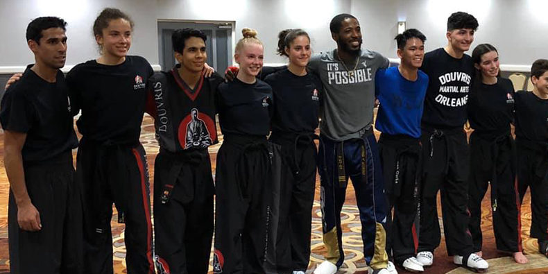 Team Douvris at Wkc World Championships