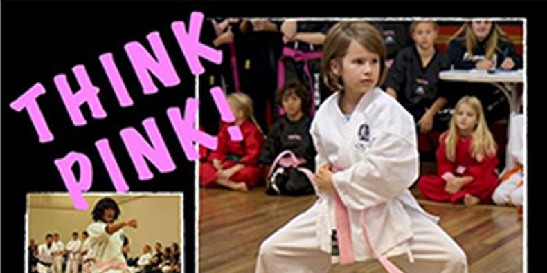 Think Pink Poster - support Breast Cancer Awareness Month with Douvris